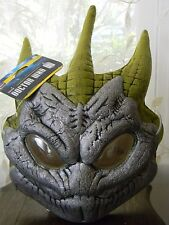 Dr Doctor Who Silurian Half Eva Mask Reptile humanoid Licensed BBC Costume NEW
