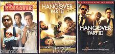 The Hangover Trilogy DVD Lot 1 2 3 II III Bradley Cooper 4 disc set Brand NEW