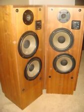 Realistic Optimus T-100 Vintage Speakers; Excellent Working Pair