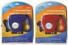 Winter Special 15' Ft Retractable Dog Lead Leash with Built in LED Torch