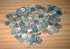 100 Paua  Shell  Luthier Dots Choice of  Sizes 2 - 6 mm