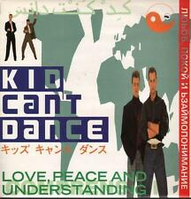 "Kid Can't Dance(12"" Vinyl)Love,Peace & Understanding-Siren-SRNT 90-UK-Ex/VG"