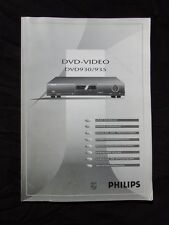 PHILIPS DVD-VIDEO DVD930/935 Operations Manual