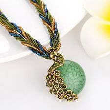 New Chain Unique Necklace Womens phoenix Pendant Resin Link Fashion Jewelry Hot