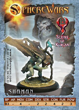 Sphere Wars Shaman Scions of Kurgan metal miniature new