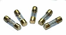 5 New AGU Fuses Reliable Gold Plated Pack of 30 Amp 30A IMC Audio Brand New