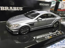 MERCEDES BENZ Brabus 800 Rocket CLS Tuning 2012 silver silbe Minichamps Spr 1:43