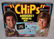 Jon & Ponch Chips 80s TV Show Medical Kit Unused 1977 Empire Toys Doctor Nurse