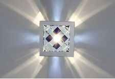 Modern Small LED Crystal Chandelier Aisle Hallway Ceiling Lighting Fixtures 1PC