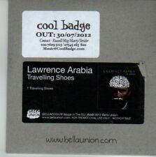 (CW204) Lawrence Arabia, Travelling Shoes - 2012 DJ CD