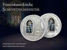 Cook Islands 2012 10$ WINDOWS OF HEAVEN St. Francis - KRAKOW Silver Coin