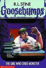 The Girl Who Cried Monster (Goosebumps, No. 8) by R. L. Stine, Acceptable Book