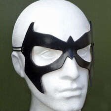 NIGHTWING Mask Leather Dick Grayson Cosplay Costume Halloween Fancy Dress Mask