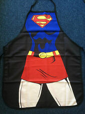 SuperHero Supergirl Kitchen BBQ Chef Baking Apron Party Novelty Comic Costume