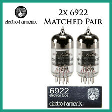 New 2x Electro Harmonix 6922 / E88CC / 6DJ8 | Matched Pair / Duet / Two | EH