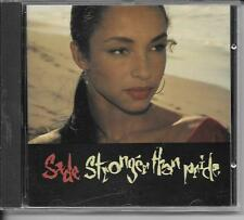 CD ALBUM 10 TITRES--SADE--STRONGER THAN PRIDE--1988