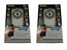 2-Pack D-Link Wireless Day/Night Cloud Network Camera w/ Remote Viewing DCS-932L