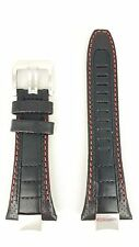 SEIKO SPORTURA BLACK LEATHER STRAP SNAE07 WATCH BAND 7T62 0KL0 SNAE07P1 4A1T1JV
