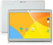 Tablet 10 inch Octa Core White PC 2560X1600 IPS 4GB RAM 64GB ROM 8.0MP WIFI 3G 7