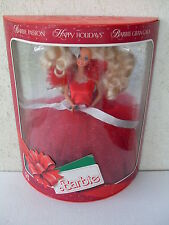 barbie happy holidays passion gran gala collector collection doll 1988 NRFB 1703
