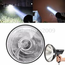 6800LM 12V 100W 9'' Xenon Handheld Lamp Spotlight Fishing Hunting Work Light
