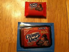 TOPPS WACKY PACKAGES ERASER SERIES 1 APES AHOY CHIMPANZEE HUMOR COLLECT SMALL