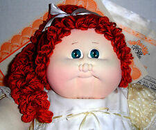 CPK Xavier Roberts Cabbage Patch Soft Sculpture 1987 Topaz  JUDITH EILEEN