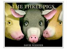 The Three Pigs by David Wiesner c2001, NEW Hardcover, Ships Free!
