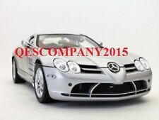 MOTORMAX 1:12 Scale Die-Cast Collection MERCEDES-BENZ SLR MCLAREN (Silver)