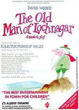 THE OLD MAN OF LOCHNAGAR  Theatre Flyer Handbill