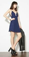 New reformation dress navy blue Zahara, XS