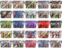 Ladies Oilcloth Floral Owl Scottie Dog Cross Body Satchel School Shoulder Bag