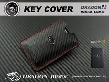 Leather Key fob Holder Case Chain Cover FIT For LEXUS CARD SMART SMART KEY 2015B