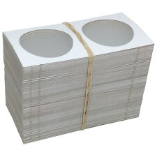 "100 2"" x 2"" MYLAR CARDBOARD FLIPS FOR COLLECTOR CASINO CHIPS - FREE SHIPPING *"