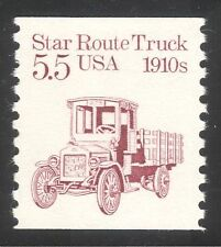 USA 1985 Star Route Truck/Motors/Lorry/Business/Transport 1v coil (n24523)