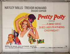 Cinema Poster: PRETTY POLLY 1967 (Quad) Hayley Mills Trevor Howard Shashi Kapoor