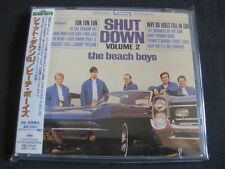 The Beach Boys, Shut Down Volume 2, JAPAN CD + Obi, toshiba/emi, TOCP-53165, + 1