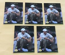 2003 Upper Deck Golf Trading Card #1 Tiger Woods Lot Of 5