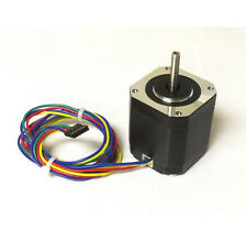 "NEMA17 Stepper Motor (KL17H247-168-4B) (1/4"" dual shaft with a flat) 62 Oz In."