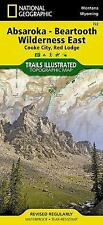 National Geographic Trails Illustrated Map: Absaroka - Beartooth Wilderness...
