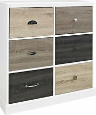 Chest of Drawers Dresser White Wood Door Cabinet Dresser Storage Clothes Bedroom