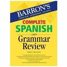 NEW - Complete Spanish Grammar Review (Barron's Foreign Language Guides)