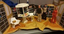 Space 1999 MOON BASE ALPHA DELUXE 3 FIGURE Playset Gift Set Mattel 1976