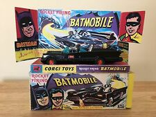 CORGI TOYS #267 1966 BATMAN BATMOBILE ROCKET FIRING WITH BOX ALL ORIGINAL