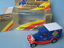 Matchbox MB-38 Ford Model A Van Smiths Potato Crisps White Roof