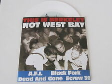"""THIS IS BERKELEY NOT WEST BAY comp 7"""" WHITE VINYL AFI limited UNPLAYED"""