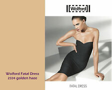 WOLFORD FATAL DRESS • S • golden haze •   ... als Kleid, Rock oder Top zu tragen