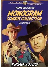 Monogram Cowboy Collection, Vol. 5: Starring Johnny Mack (2013, DVD NIEUW) DVD-R