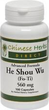 Chinese Herbs Direct, Advanced Formula He Shou Wu, 100 ct