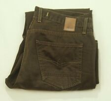Agave Waterman Tahoe Twill Mens Brown Casual Pants 32x29 Relaxed Straight Leg